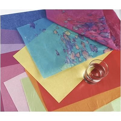 Spectra® Deluxe Bleeding Art Tissue™; 20x30, Canary, 24 Sheets