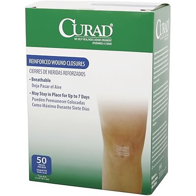 Curad® Wound Closure Strips; 3 Pack