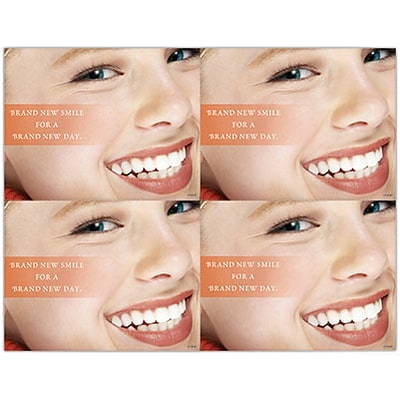 Orthodontia Laser Postcards; Brand New Smile