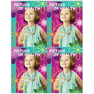 Photo Image Laser Postcards; Picture of Health