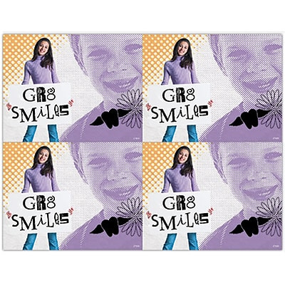 Photo Image Laser Postcards; GR8 Smiles