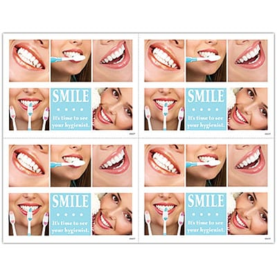 Hygienist Laser Postcards; Smile