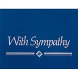 Medical Arts Press® Navy Reflections Note Cards; Sympathy, Personalized