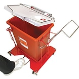 8Gal Hinged Lid for Wire Sharps Cart