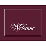 Medical Arts Press® Distinguished Expressions Note Cards; Welcome, Personalized
