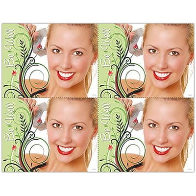 Cosmetic Dentistry Laser Postcards; Be Well