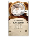 Medical Arts Press® Dual-Imprint Peel-Off Sticker Appointment Cards; Bear