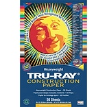 Tru-Ray Fade-Resistant Art Construction Paper
