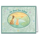 Medical Arts Press® Veterinary Sympathy Cards; We Share Your Sadness, Personalized Inside