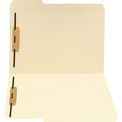 Medical Arts Press® Letter Size Top-Tab Manila File Folders; 11 Point, 1/3 Cut, 2 Fasteners, 250/Box