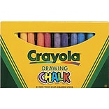 Crayola® Colored Drawing Chalk; Assorted, 24/Box