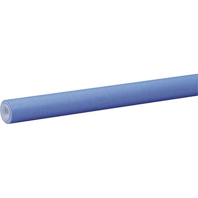Fadeless® Art Paper Rolls; 48x50, Bright Blue