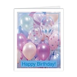 Medical Arts Press® Birthday Greeting Cards; Bunch of Balloons, Blank Inside