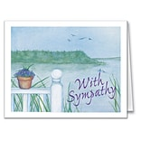 Medical Arts Press® Sympathy Greeting Cards; Fence Rail, Personalized