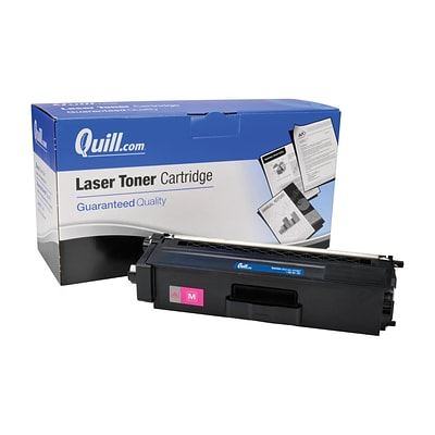 Quill Brand Compatible Brother® TN315M Magenta High Yield Laser Toner Cartridge (100% Satisfaction Guaranteed)