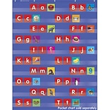Trend® Pocket Chart Add-ons, Alphabet