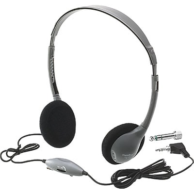 Hamilton™ Audio Visual; Personal Stereo/Mono Headphones with Volume Control