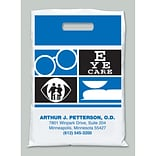 Medical Arts Press® Eye Care Personalized Large 2-Color Supply Bags, Eye Care