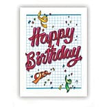 Medical Arts Press® Birthday Greeting Cards; Confetti,  Blank Inside