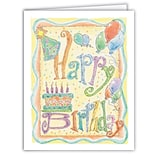 Medical Arts Press® Birthday Greeting Cards; Cake,  Personalized