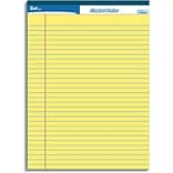 Quill Brand® Standard Yellow Ruled Pad 8.5x11
