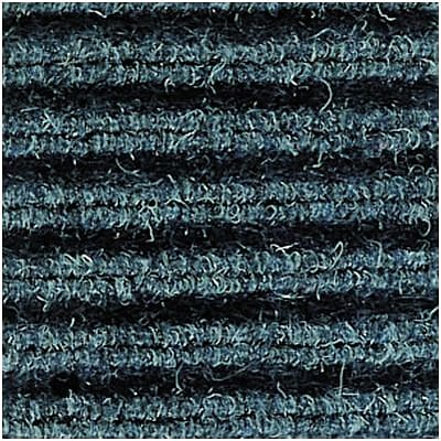 Crown® Needle-Rib™ Scraper/Wiper Entrance Mat; 4x6, Polypropylene, Blue