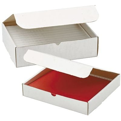 Literature Mailers; White, 12-1/8Lx9-1/4Wx6D, 50/Case