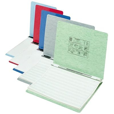 Quill Brand® Standard Ringless 14-7/8 x 11 Data Binders, Assorted Colors, 10/Box (711501)