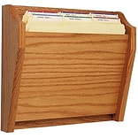 1-Pocket Oak Wall Chart Holder
