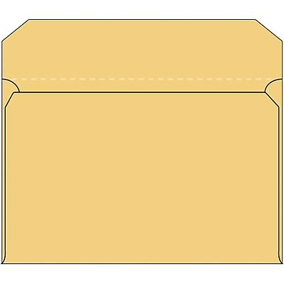 Quill Brand® Side Opening Envelopes; 10x15, Brown-Kraft, Ungummed, 40lb., 100/Box