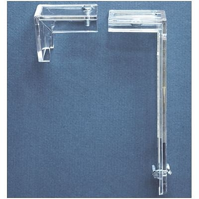Deflect-O® Brackets for Hanging Most Wall-Mount Pockets, Clear