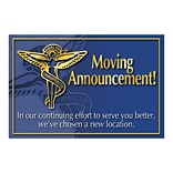 Medical Arts Press® Medical Standard 4x6 Postcards; Moving Announcement