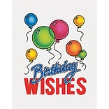 Medical Arts Press® Birthday Greeting Cards; Balloon,  Personalized