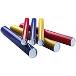 Colored Mailing Tubes; 24Lx3Dia., Blue