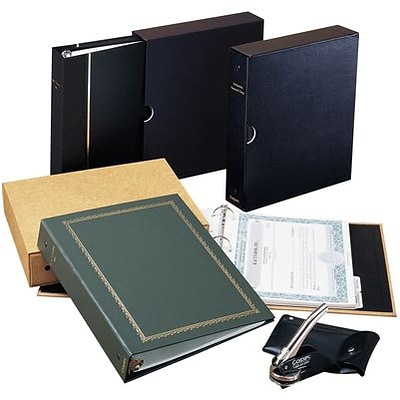 Corpex® Standard Corporate Outfit with Minutes; Green Binder