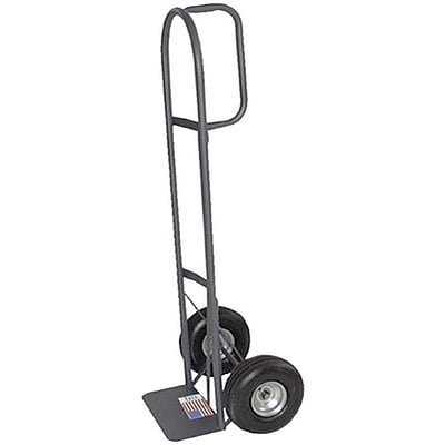 Milwaukee D-Handle Hand Trucks; 10 Pneumatic Tires; Load Capacity 800 lbs.