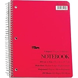 3 Subjects Spiral-Bound/Perforated Notebook