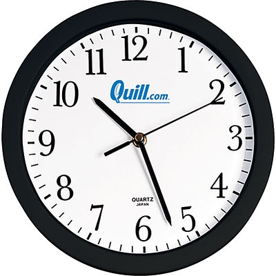 Quill Brand® Battery-Powered Wall Clock