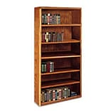 Martin® 70H 6-Shelf Wood Bookcase