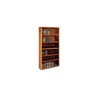 Martin® Wood Bookcases, 70H, 6 Shelves