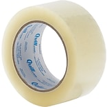 Quill Clear Acrylic Packaging Tape; 110 yds. long; 2.6-mils thick; 2W