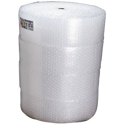 1/2 Bubble Height; 24Wx250L Air Bubble Rolls; 2/Pack