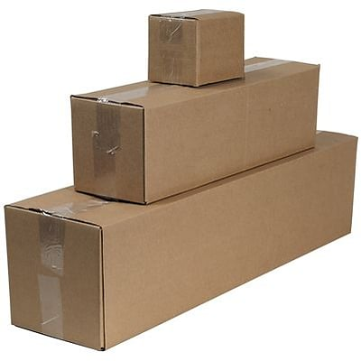 17(L) x 13(W) x 13(H) Shipping Boxes, 32 ECT, Brown, 25 /Bundle (171313)