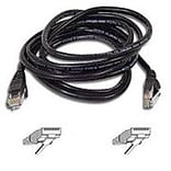 Belkin 25 FastCAT™ 5e Snagless Molded Patch Cable - Black