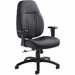Global Deluxe High-Back Office Chair in Storm
