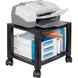 Kantek 2-Shelf Mobile Printer Stand