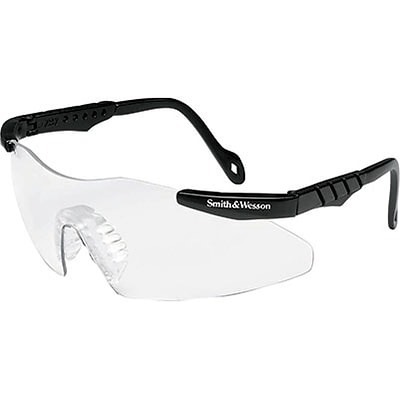 Smith & Wesson® Magnum 3G Safety Glasses, Clear, Black