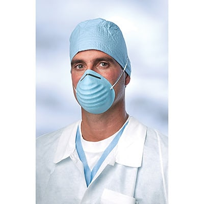 Surgical Cone-Style Masks with Earloop; 50/Bx