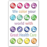 Medical Arts Press® Medical Standard 4x6 Postcards; Great Healthcare Icons
