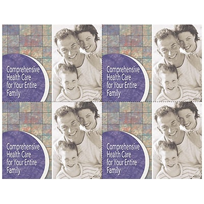 Photo Image Laser Postcards; Family Comprehensive Care